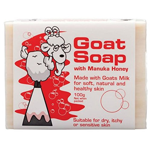 Apple and tea @3 packs of Goat Soap With Manuka Honey 100g