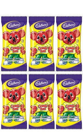 Cadbury Caramello Koala (Amazon 6-Pack) - Australian