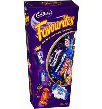 Cadbury Favourites Chocolate Gift Box (Made in Australia)