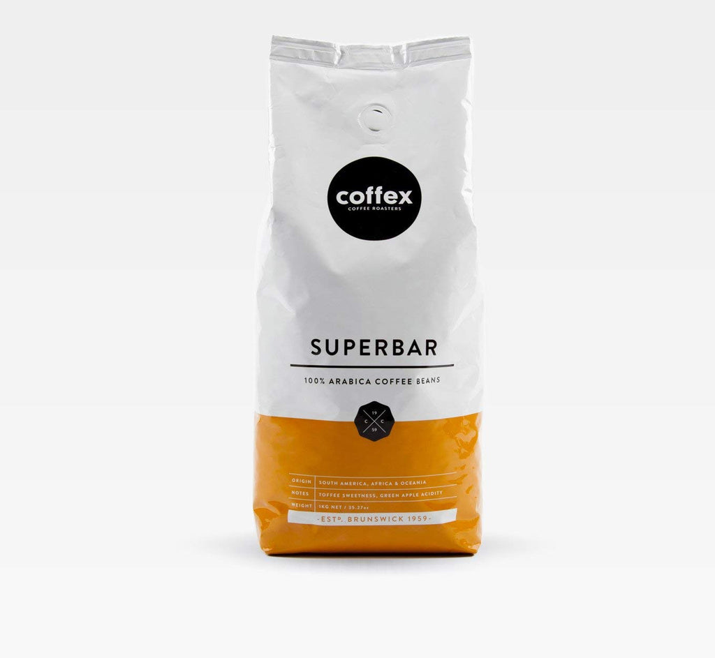 Coffex Superbar 100% Arabica Coffee Beans