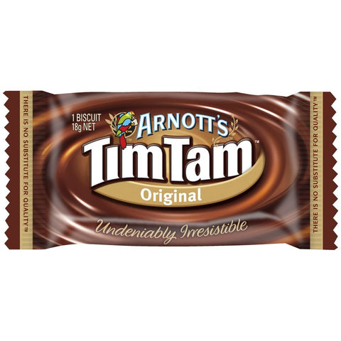 Arnotts Original Individual Tim Tams Pack Box of 150 (18g packets are separately wrapped for freshness)