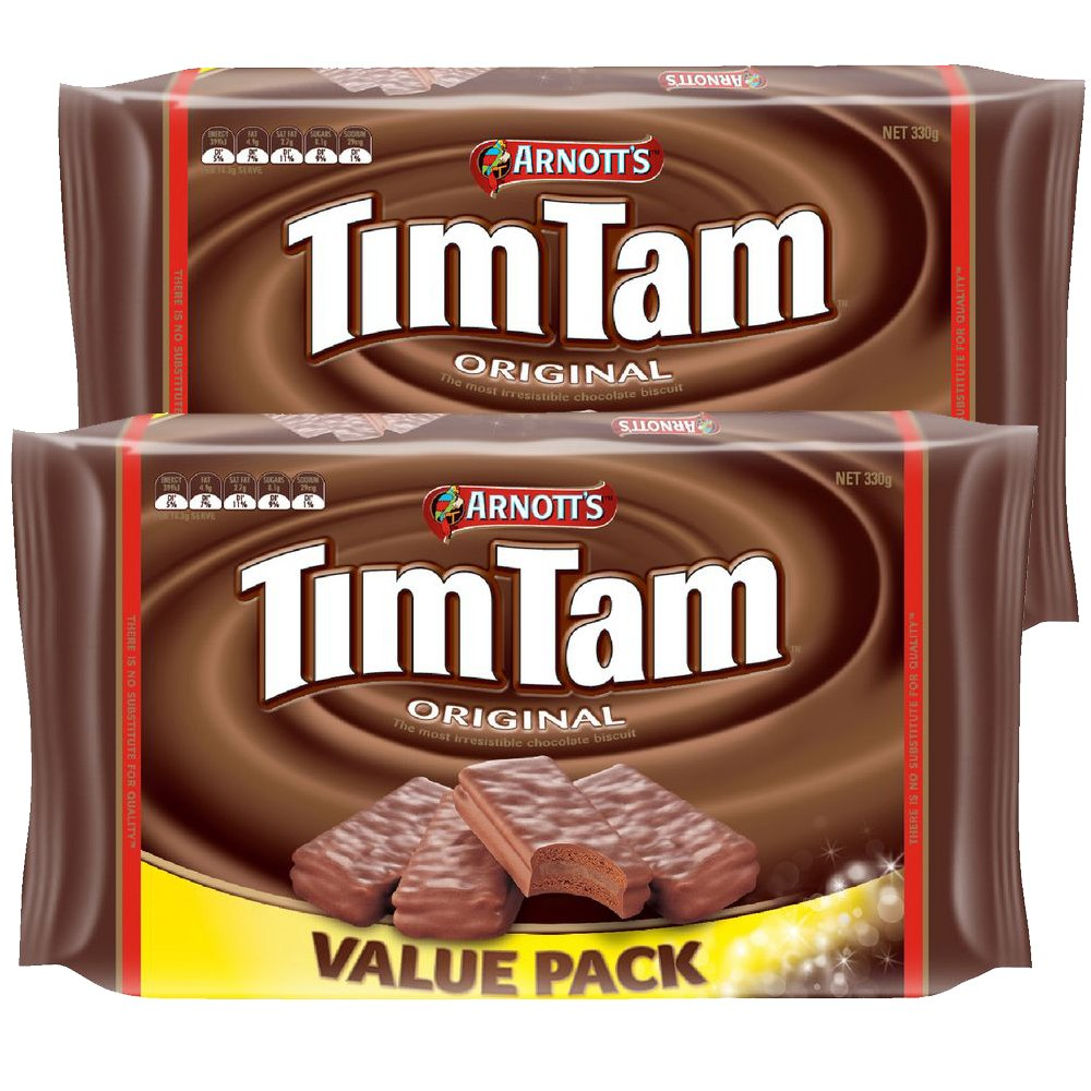 Arnott's Tim Tam Value Pack 330g (2 Pack)  ( Thermal Packed )