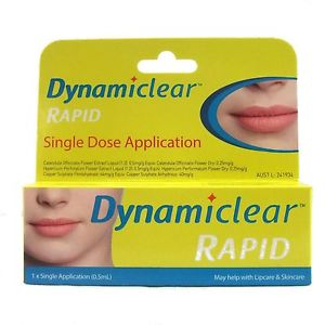 Dynamiclear Rapid x 10 Single Applications