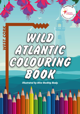 <i>Wild Atlantic Colouring Book</i> <br>Alice Buckley-Healy and Marie Keating