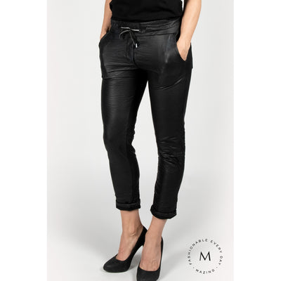Mazing TUNDRA bukser LEATHER Black - Welike