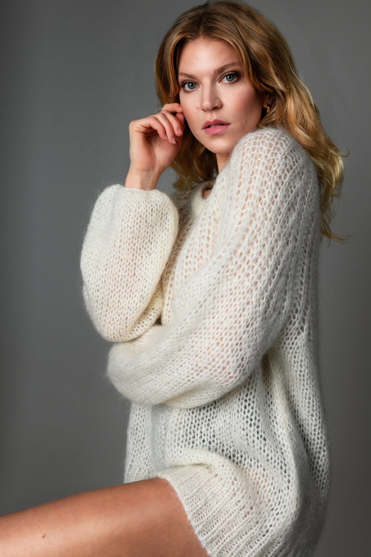 ADELE sweater Cream - Welike