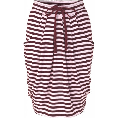 Comfy Copenhagen Skjørt It`s My Life Fig / Rose Stripe - Welike
