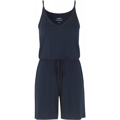 Comfy Copenhagen Jumpsuit Bad Feeling Navy - Welike