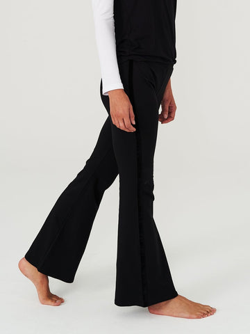 Comfy Copenhagen Bukse So What black velour - Welike