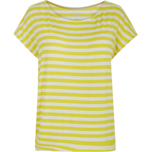 T-skjorte With Or Without You yellow stripe