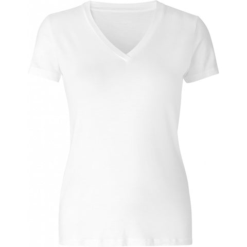 Comfy Copenhagen T-Skjorte You Love Me ( V-Hals) white