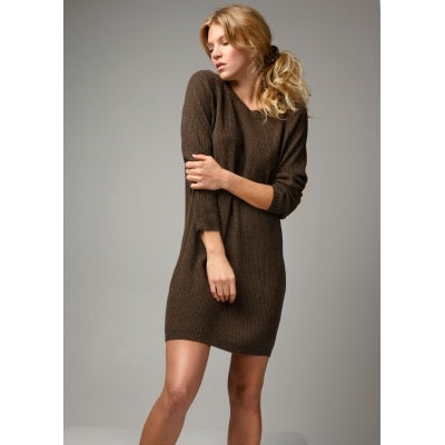 JULIETTE knitted dress Mousse