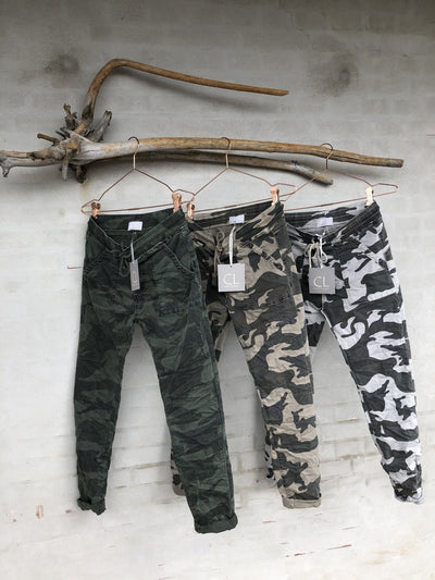 Mille Gray Camo Pants