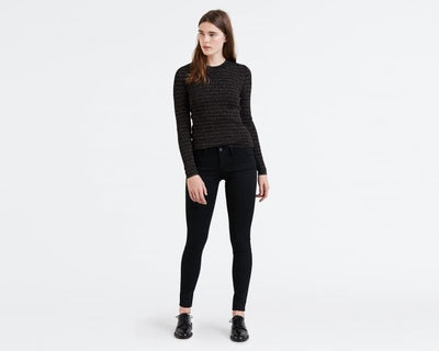 Levis Innovation Super Skinny Black Galaxy - Welike