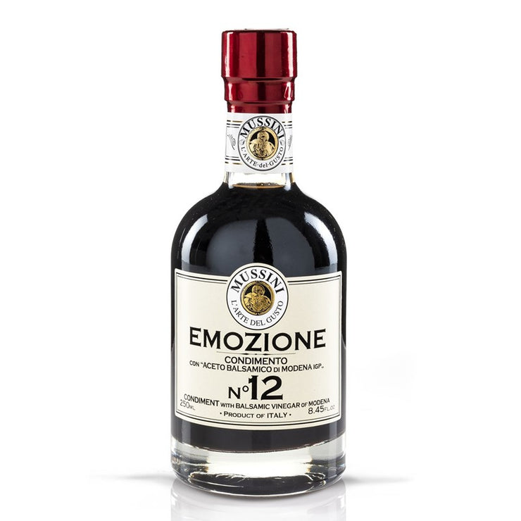"Mussini Balsamicoeddik ""Emozione No. 12 Nero"" 250 ml - Welike"