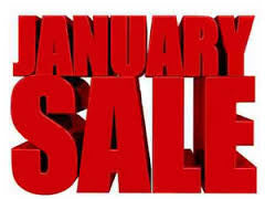 January Sale 70% off