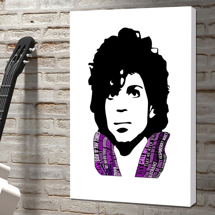 Our Latest Pop Icon Canvas Is Here - The Unforgettable 'Prince'