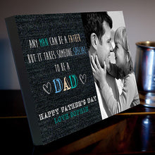 Father's Day some special to be a dad canvas gift dad grandad