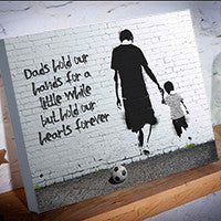 Father's Day Personalised canvas gift