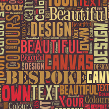 Text Montage Canvas Be My Boy