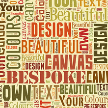 Text Montage Canvas Best Of Earth