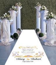 Butterfly Corinthians - Wedding Aisle Runner