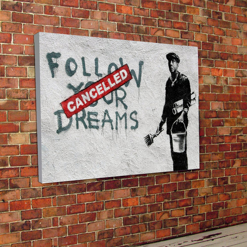 Banksy Dreams Canvas