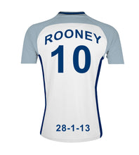England Team Personalised Football Shirt Canvas