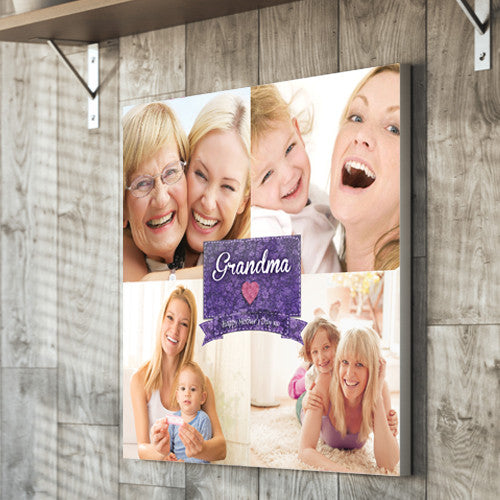 Mother's Day canvas gift mum mother grandma nan images