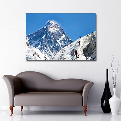 Landscape Art Canvas of Mt Everest