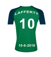 Northern Ireland Personalised Football Shirt Canvas