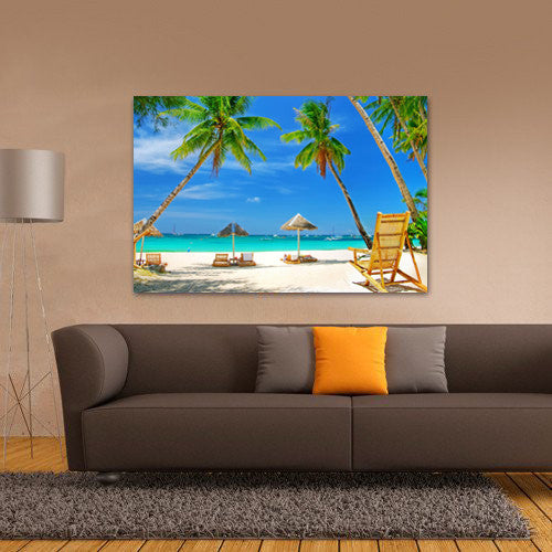 Photo Upload Landscape Canvas