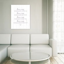 Portrait Art Canvas, Song Lyrics from Pharell - Happy