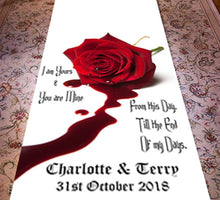 Till The End Of My Days - Personalised Wedding Aisle Runner