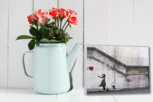 Desktop canvas card valentines hope banksy personalised