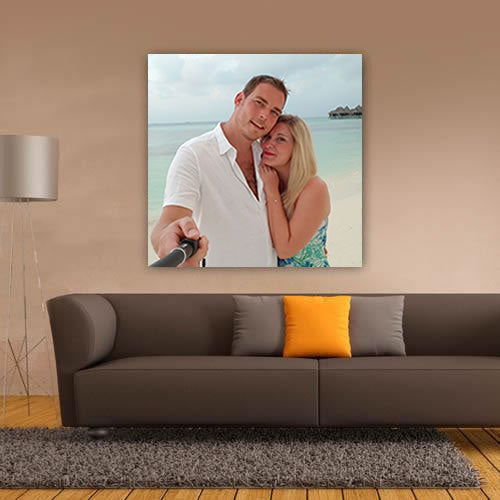 Valentine's Photo Canvas Upload - Square