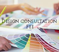 design consualtation fee for create your own aisle runner