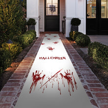 Gruesome Halloween Party Floor Runner Decoration