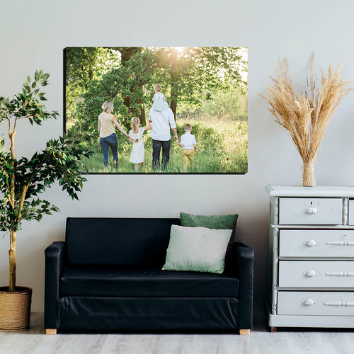 photo upload canvas landacape quality printing