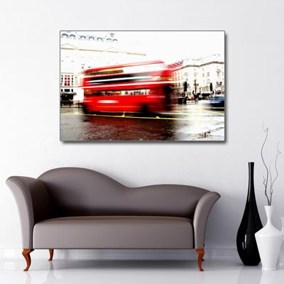 London Red Bus iconic image UK