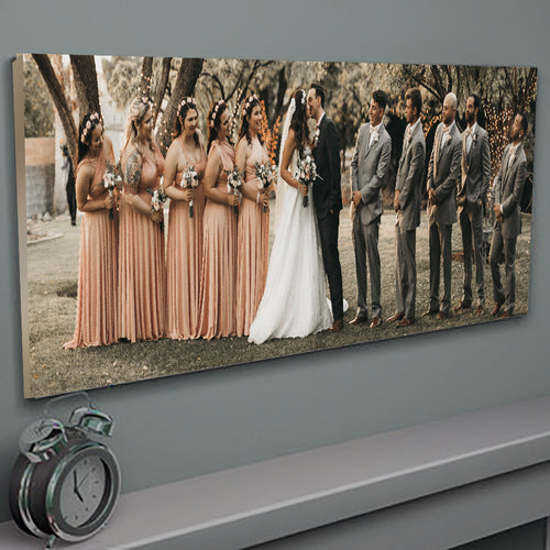 Photo Canvas Upload - Panoramic