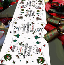 Chrisitmas Table runner unpersonalised Christmas table decoration