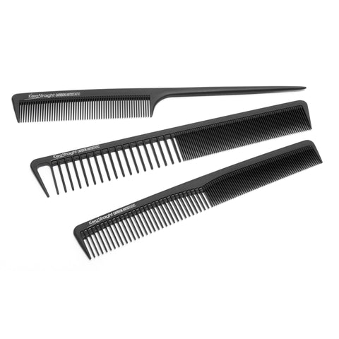 KeraStraight Carbon Comb Set