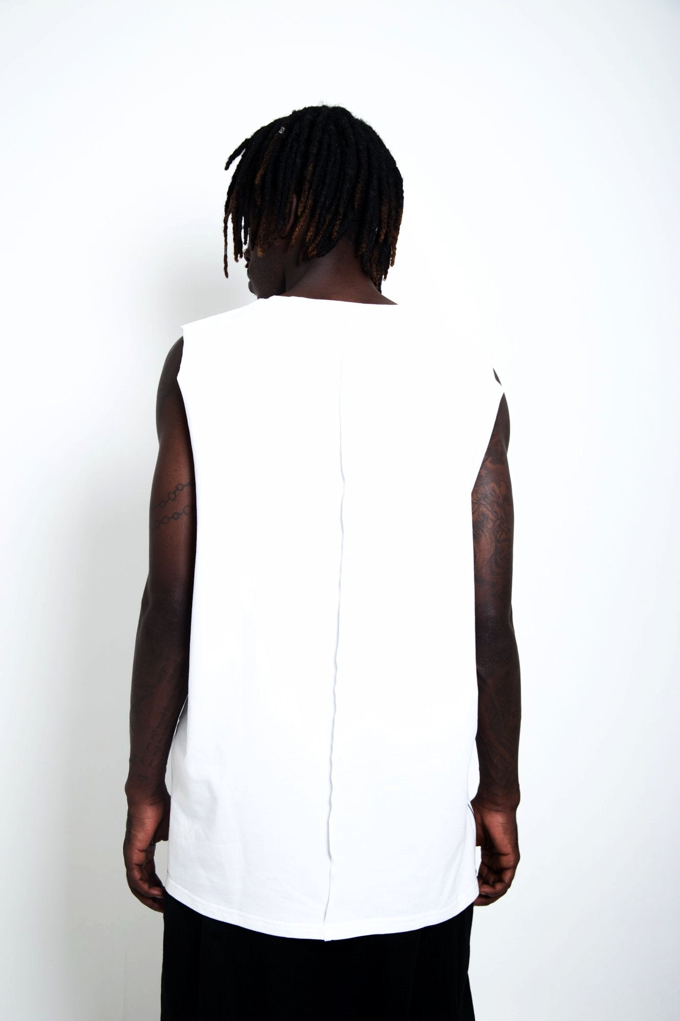 Rich August 2.0 Muscle Tee - Stone White