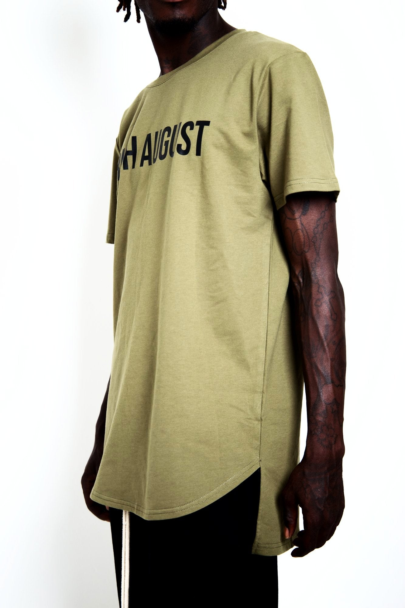 All Star August Tee - Khaki Green