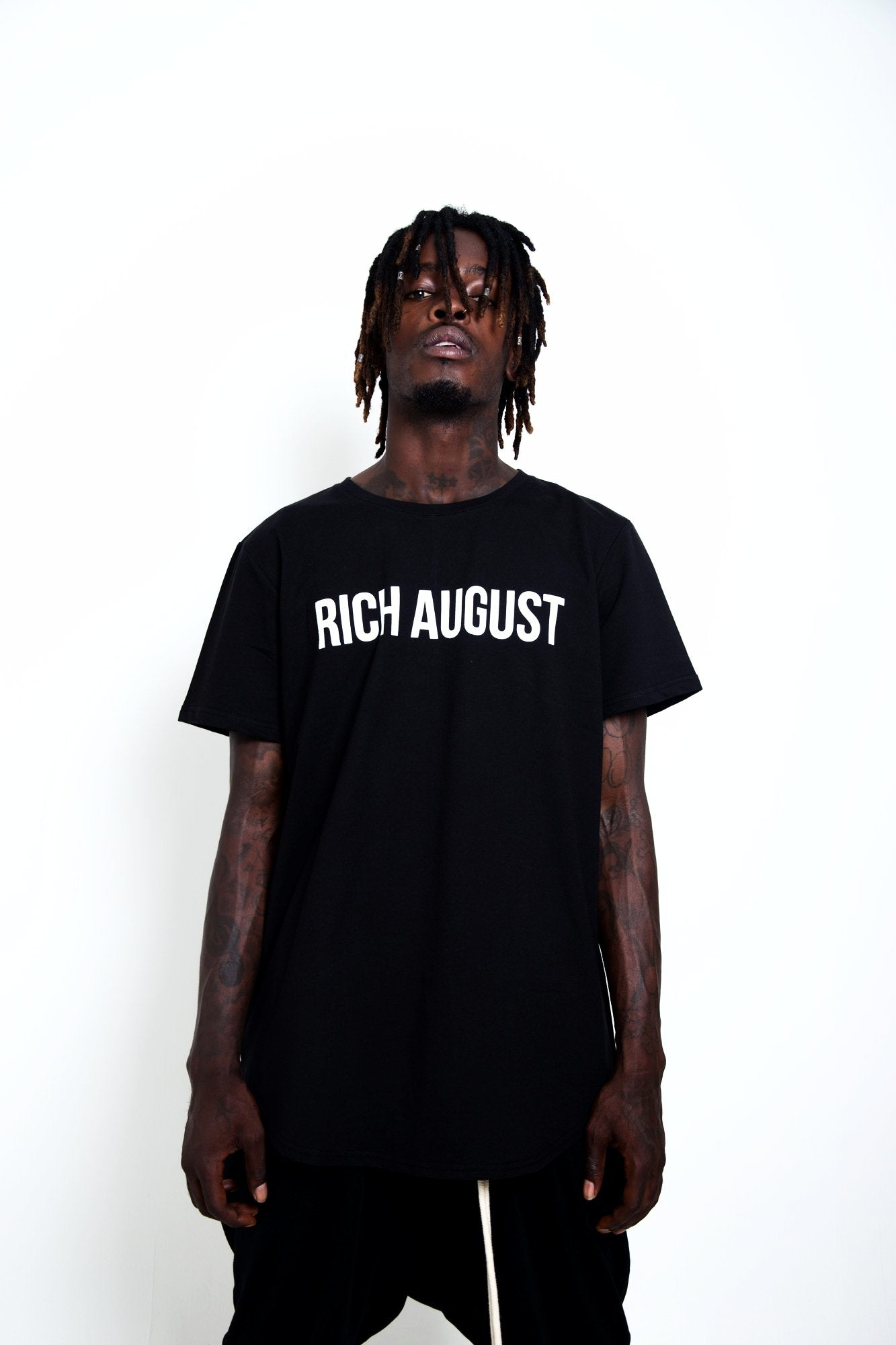 All Star August Tee - Stone Black