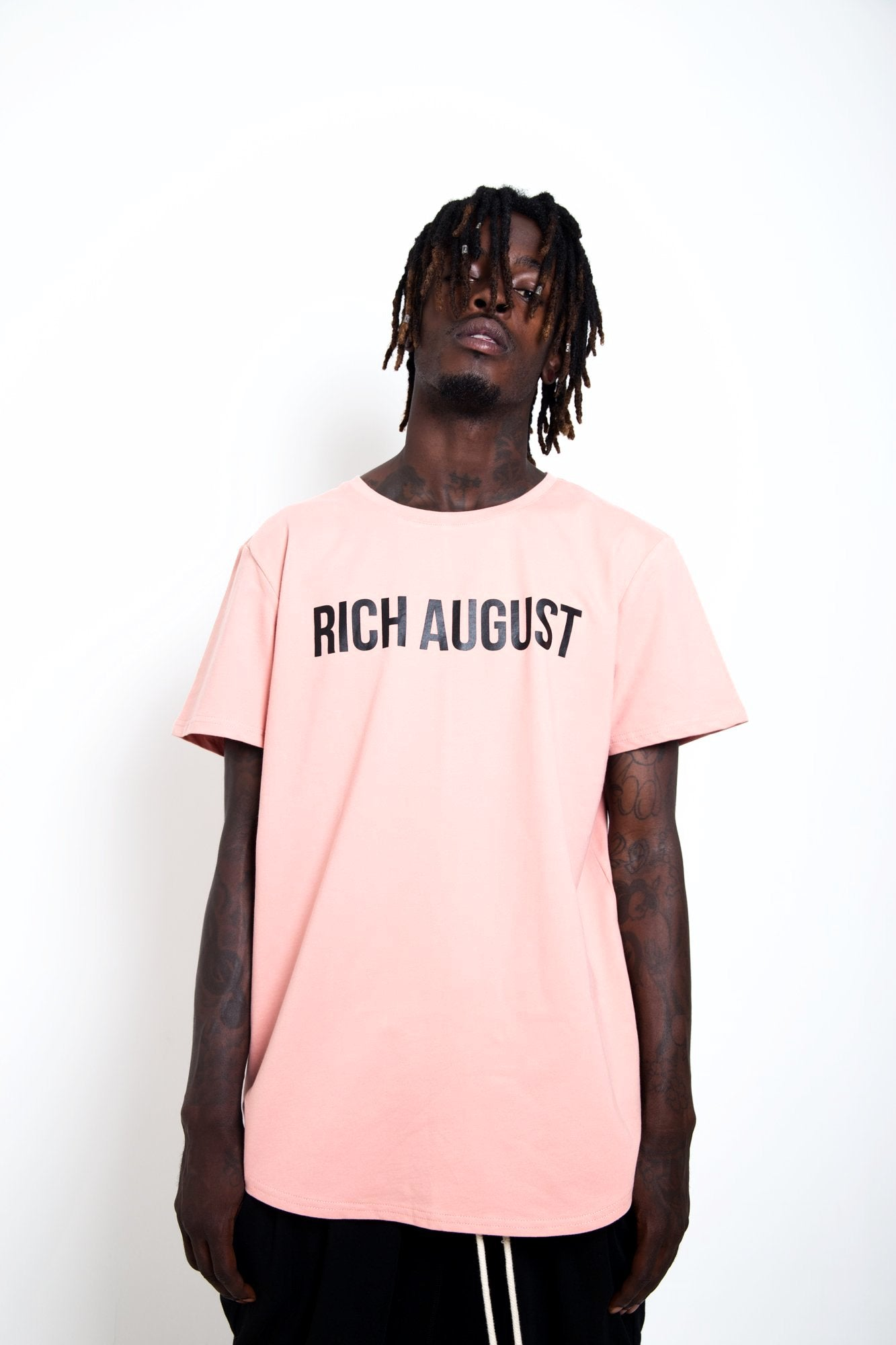 All Star August Tee - Pink Salmon