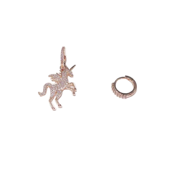 Unicorn x Hoop Earring Set - Cheval Equestrian
