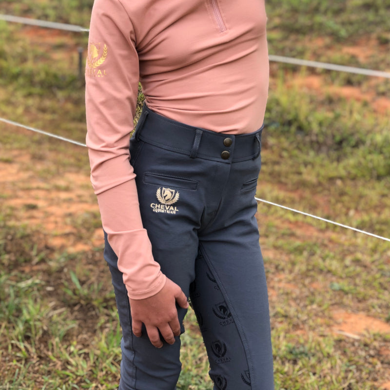 Classic High Waist Breeches - Cheval Equestrian
