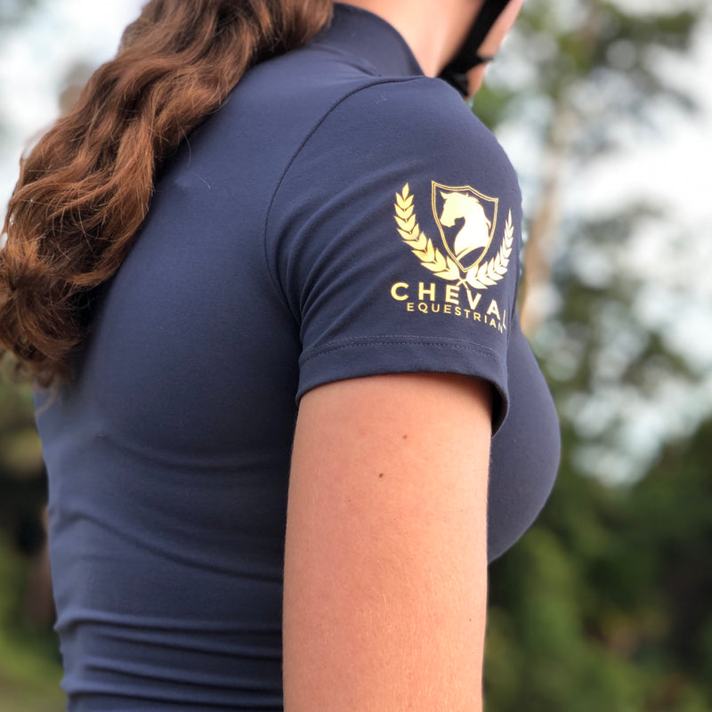 Short Sleeve Compression Top - Cheval Equestrian